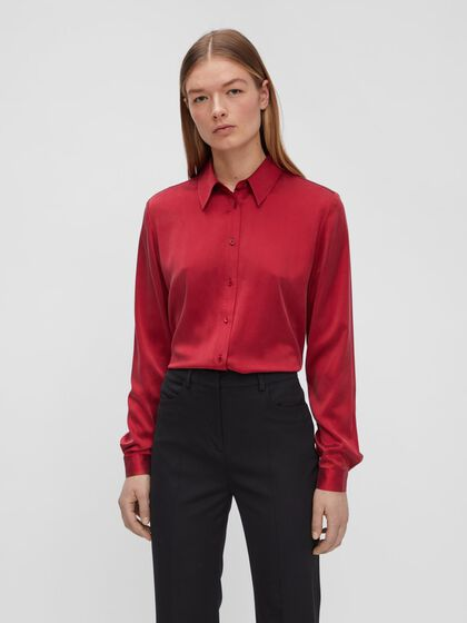 MALLORY SILK SHIRT
