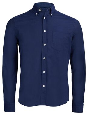 DANIEL BUTTON-DOWN STRETCH OXFORD HEMD