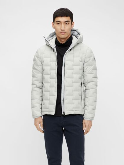 EASE HOODED LINER DOWN JACKET
