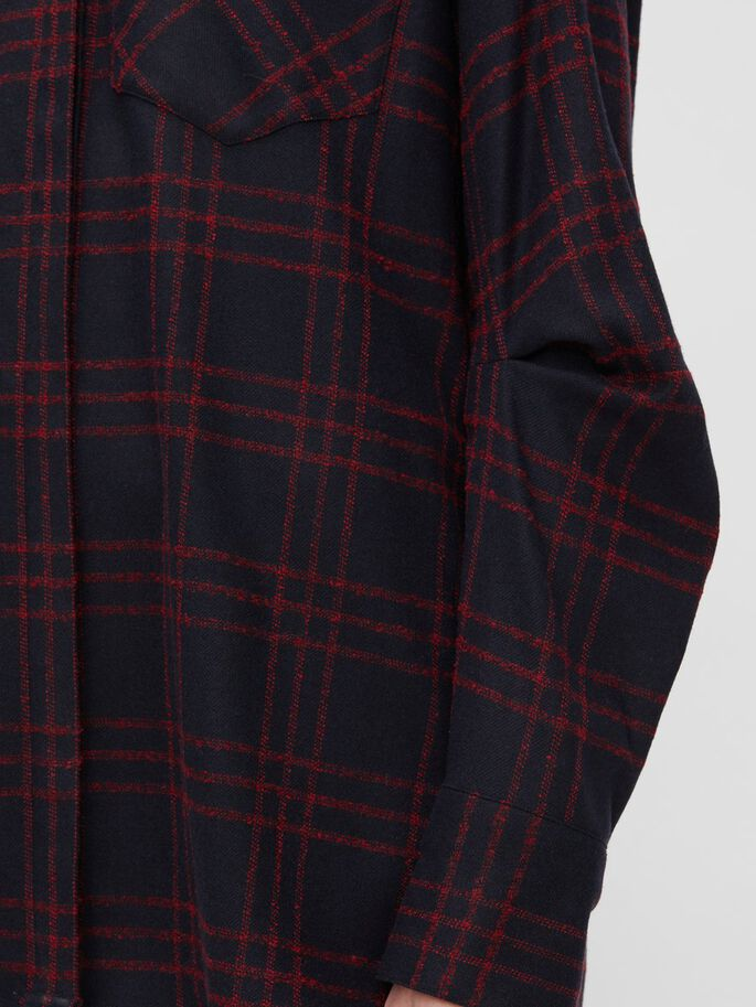 PAMELA FLANNEL HEMD, Chavey Check, large