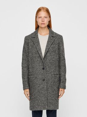 LAYA LUX HERRINGBONE COAT