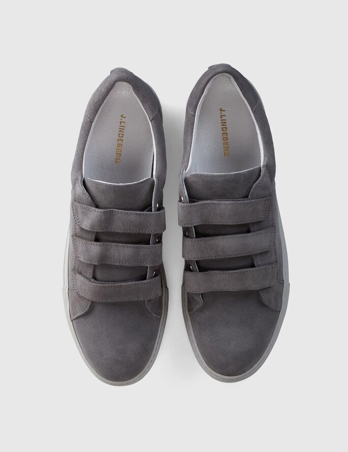 ITALIAN SUEDE SNEAKERS, Stone Grey, large