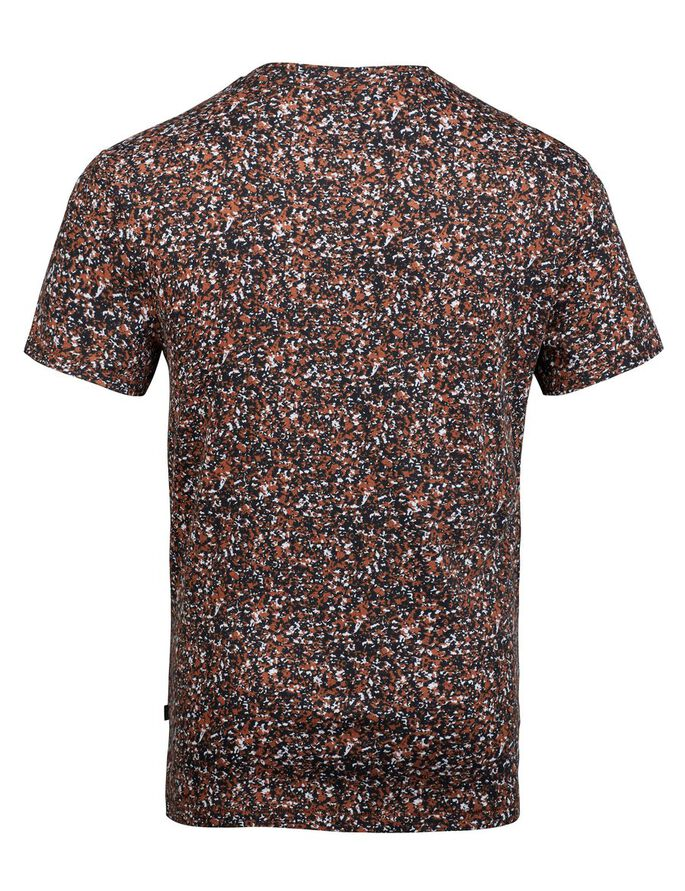 SEV WAVE JERSEY T-SHIRT, Dusty Rust, large