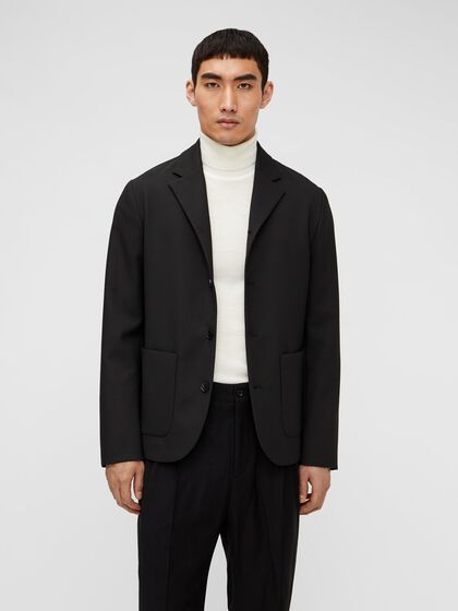 LUC STRETCH TAILORED OVERSHIRT