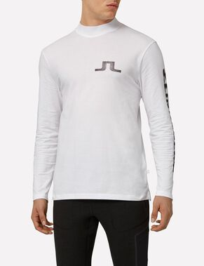 JUNIP LOGO RIPS COTTON LONG SLEEVED TOP