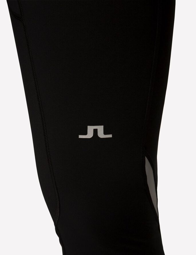 RUNNING COMPRESSION POLY COLLANTS, Black, large