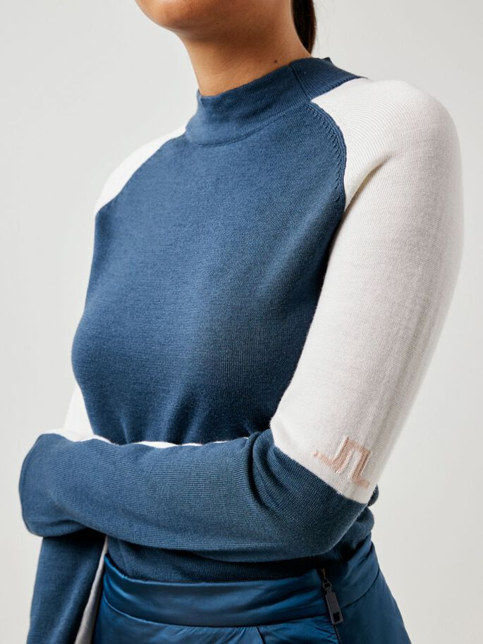 LEILA KNITTED PULL, Orion Blue, large