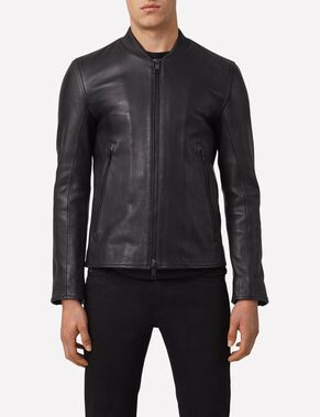 VIVID 76 MICRO GRAIN LEATHER JACKET