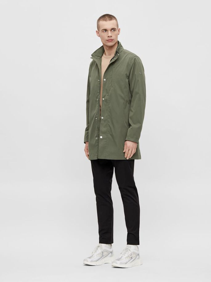 TERRY COAT, Lake Green, large