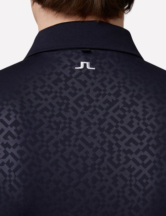 DAVID SLIM TX JERSEY + POLO, JL Navy, large