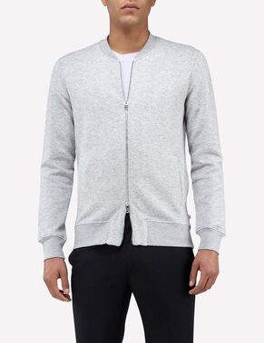 RANDALL MICRO QUILT SWEAT JACKET