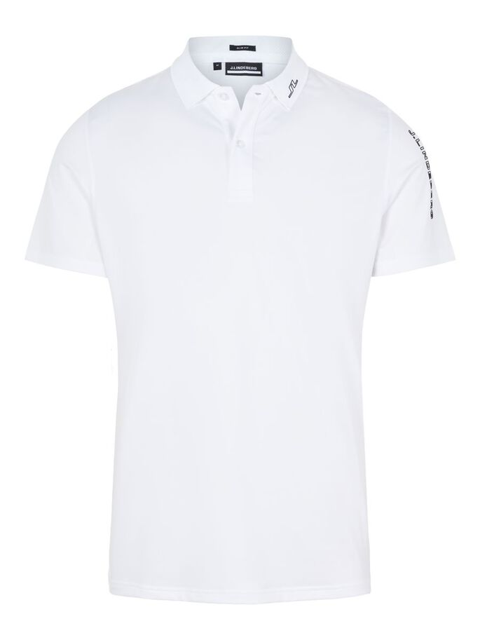 JAKOB SLIM FIT POLOSHIRT, White, large