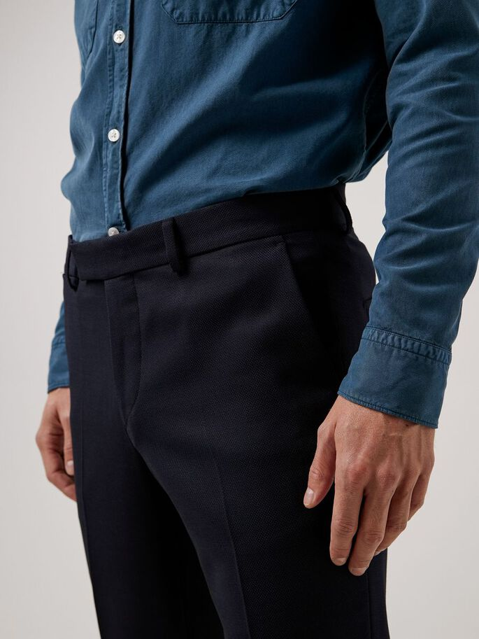 GRANT ACTIVE HOPSACK TROUSERS, JL Navy, large