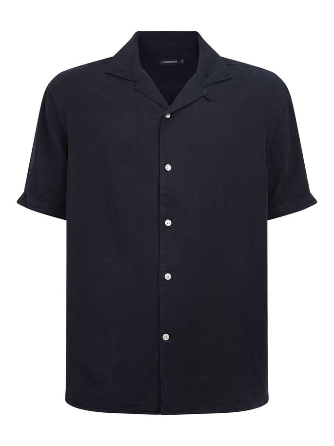 COMFORT TENCEL SHIRT, JL Navy, large