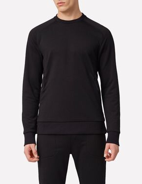 ACT MIX TECH FROTTÉ SWEATSHIRT