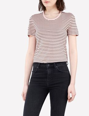 JESSA SUMMER STRIPE T-SHIRT