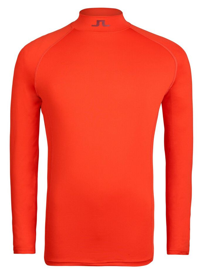 AELLO SLIM SOFT COMPRESSION SPORTS TOP, Racing Red, large