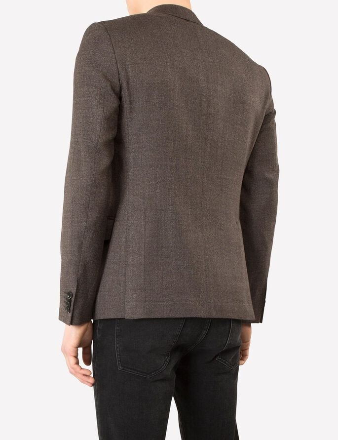HOPPER SOFT 110S STRUCTURE BLAZER, Brown, large