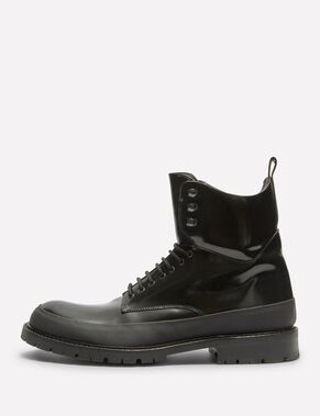 COLE COMBAT LEATHER BOOTS