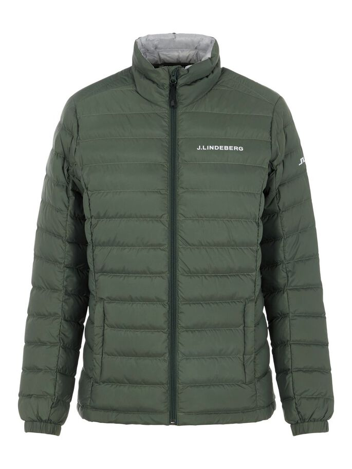 THERMIC DOWN JACKET, Thyme Green, large