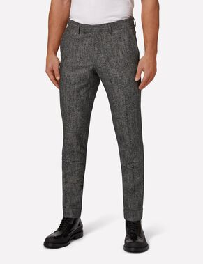 GRANT GRID DEGRADE SUIT TROUSERS