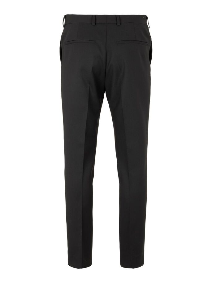 LEO STRETCH TROUSERS, Black, large