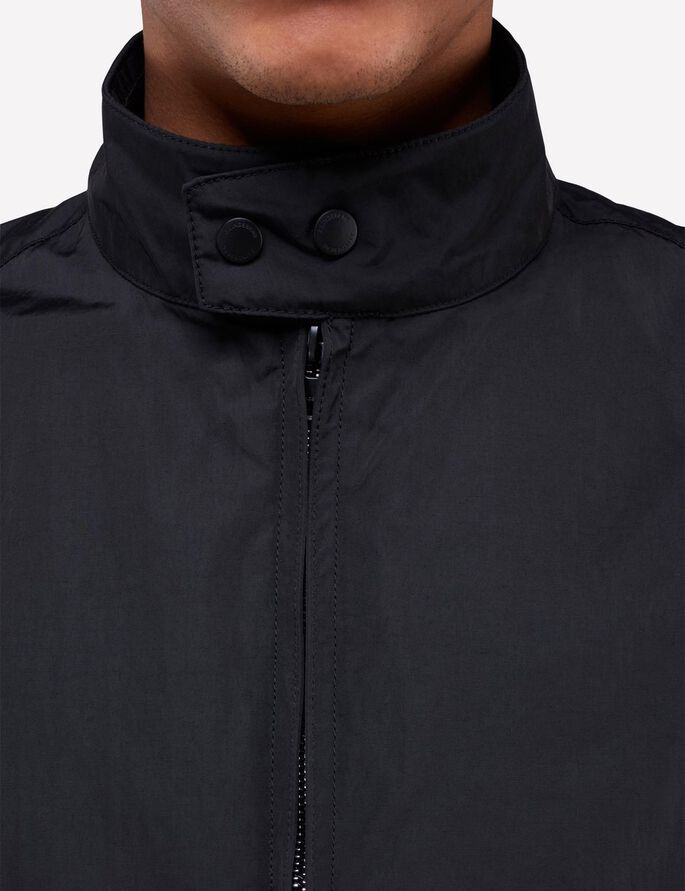 TRAVIS 72 SPORTS NYLON JACKET, Black, large