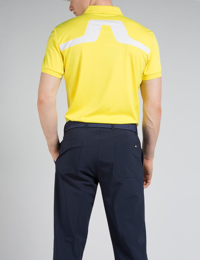 KV REG TX JERSEY POLO SHIRT, Radiant Yellow, large