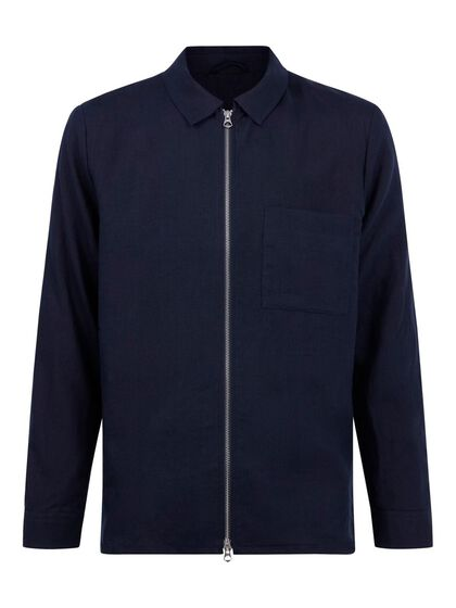 JASON LINEN OVERSHIRT