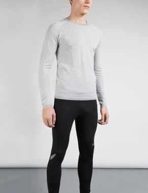 ARNOLD CRACKLED KNITTED PULLOVER