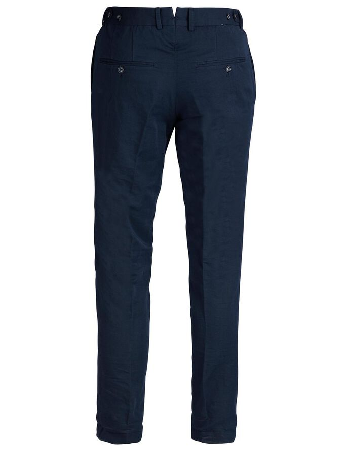 GRANT 63 COTTON LINEN CHINOS, Navy, large