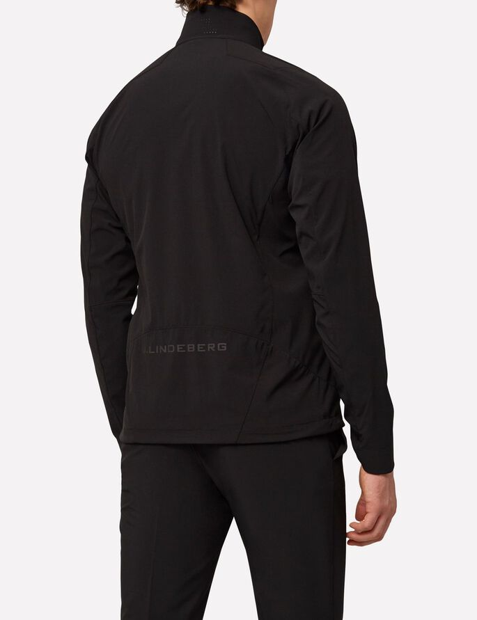 KINETIC SOFT SHELL SPORTS JACKET, Black, large