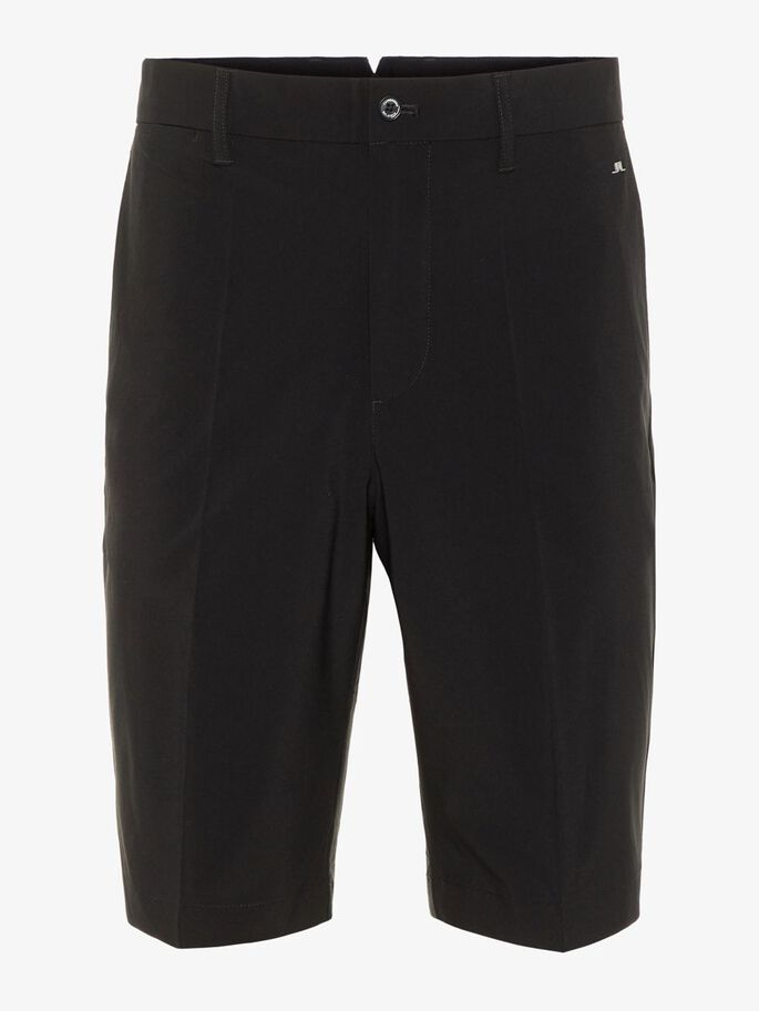 ELOY TAPERED STRETCH SHORTS, Black, large