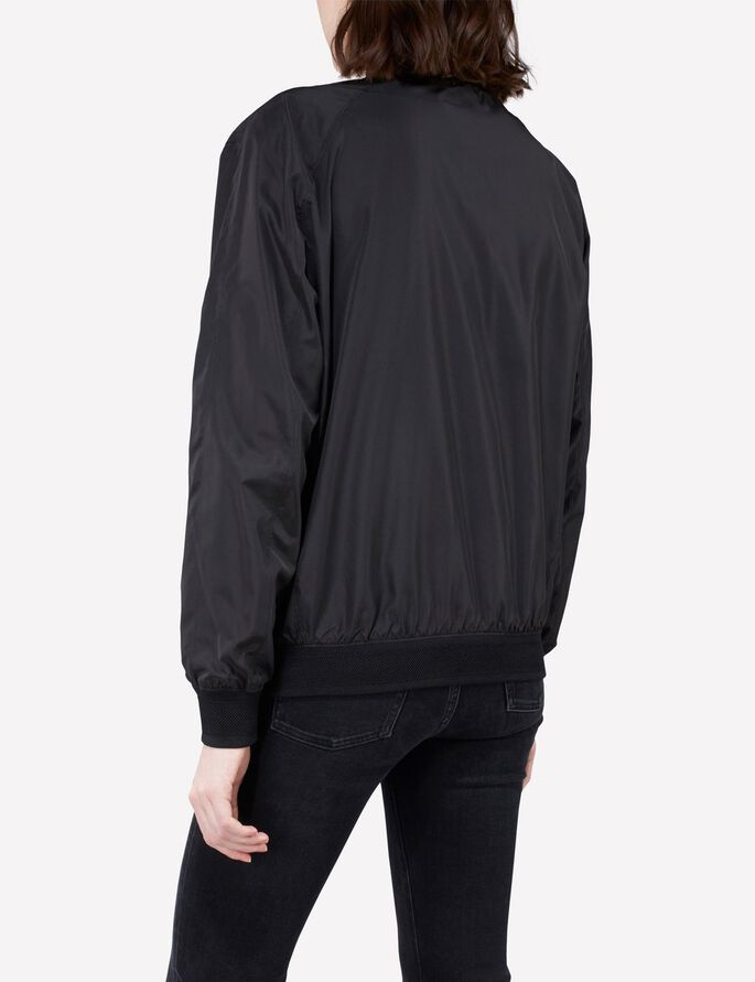 THOMI GRAVITY POLY JACKET, Black, large