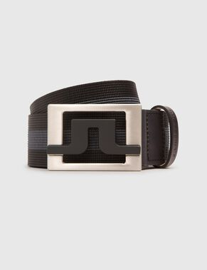 SLATER 40 STRIPED WEBBING BELT