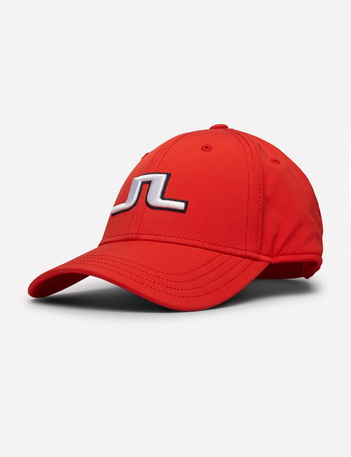 ANGUS TECH STRETCH CASQUETTE, Racing Red, large