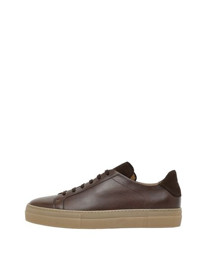 SIGNATURE LEATHER SNEAKERS