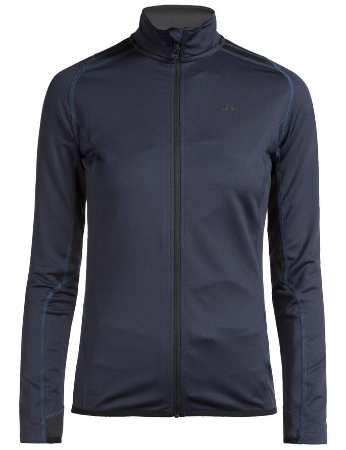 ACTIVE MID FULL ZIP TECH MID SWEAT JACKET, JL Navy, large