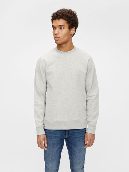THROW CREW-NECK SWEATER