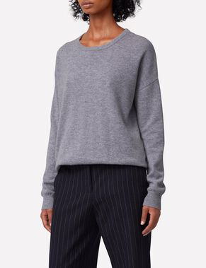MICKI CASHMERE MIX KNITTED PULLOVER