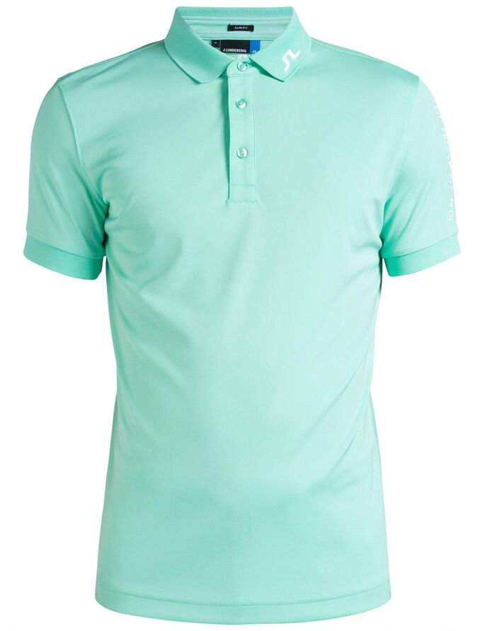 TOUR TECH SLIM TX JERSEY POLO SHIRT, Mint, large