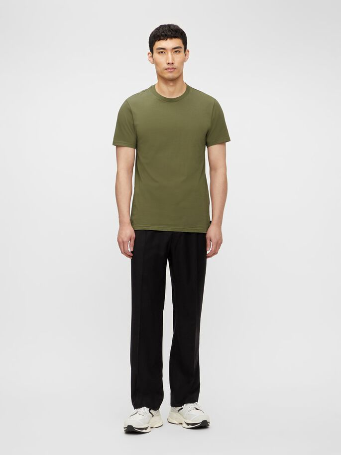 SILO T-SHIRT, Moss Green, large