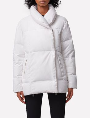 SAVANNAH VINTAGE NYLON PUFFER JACKET