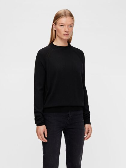 KARLA MERINO CREW NECK SWEATER