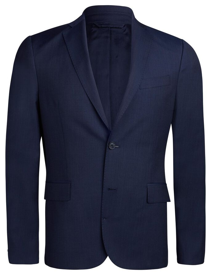 HOPPER SOFT FANCY DRESSED WOOL BLAZER, Navy, large