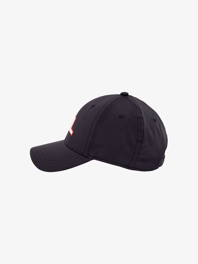 ANGUS TECH STRETCH CAP, Black, large