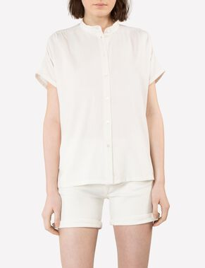EVELINE RAW SILK SHIRT
