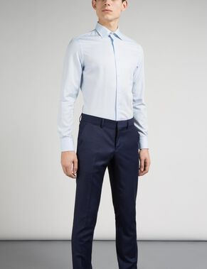 DANIEL TL NON IRON OXFORD BUSINESS SHIRT