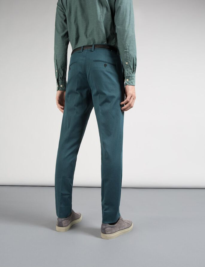 GRANT MULTICOLOUR TROUSERS, Dusty Green, large