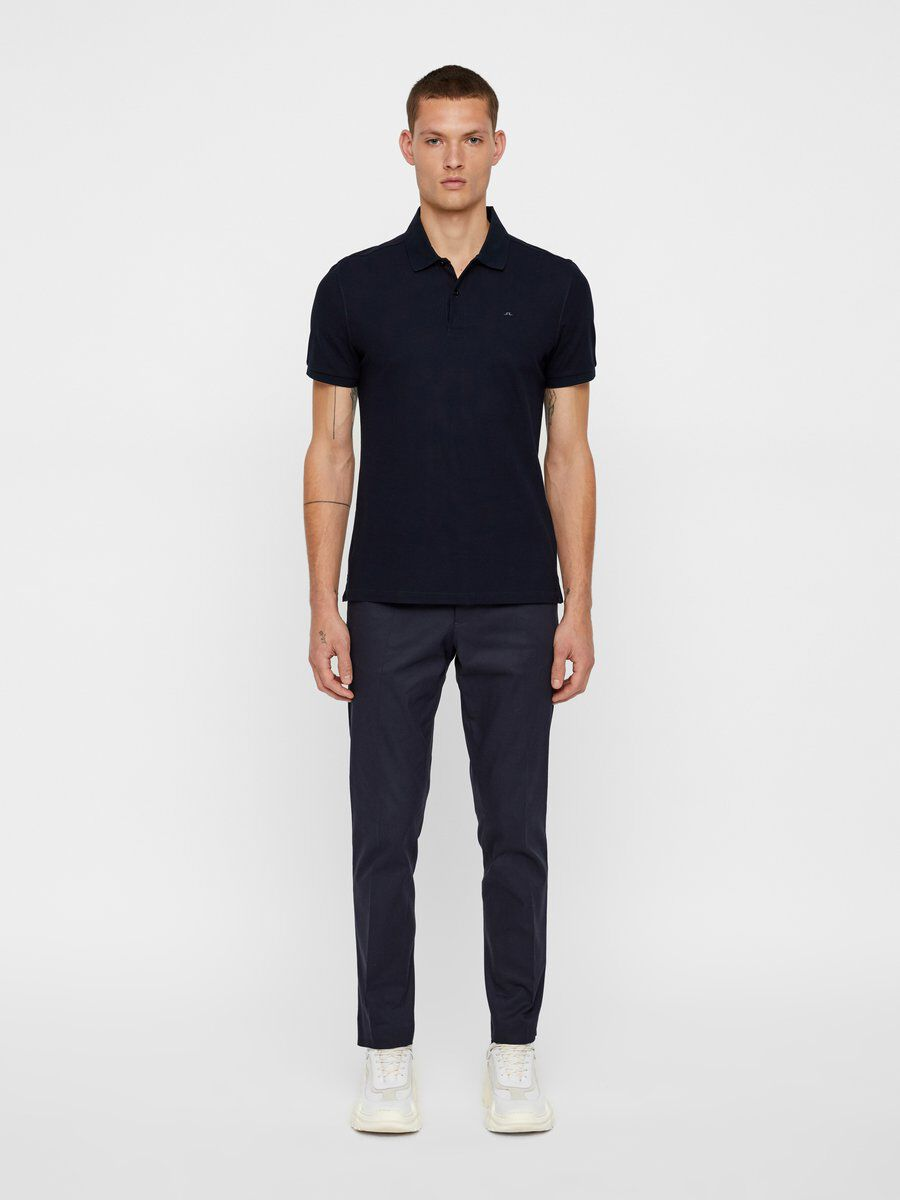 J.Lindeberg TROY CLEAN POLO SHIRT